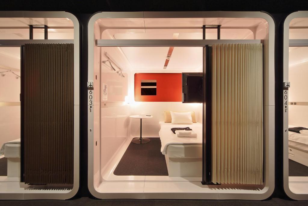 First cabin tsukiji r servation gratuite sur viamichelin for Cabin hotel tokyo