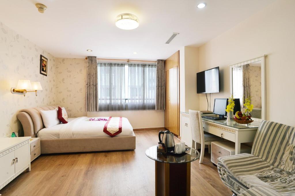 Phòng VIP có Giường cỡ King