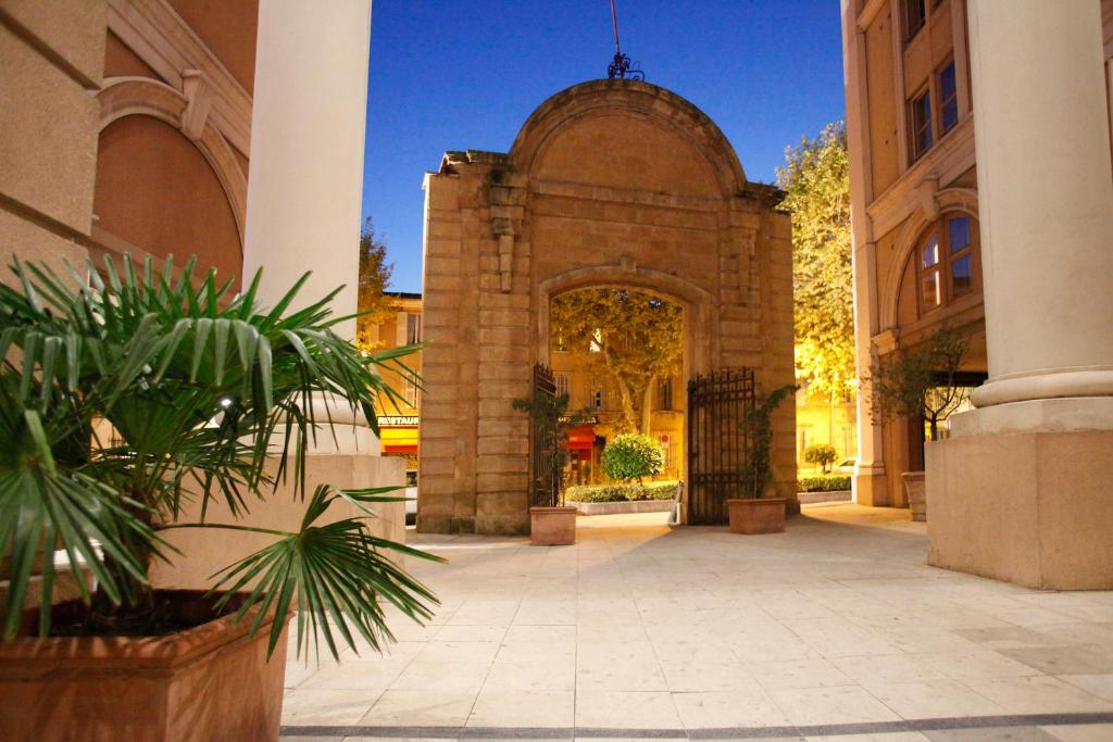 apparthotel odalys atrium  aix en provence  france