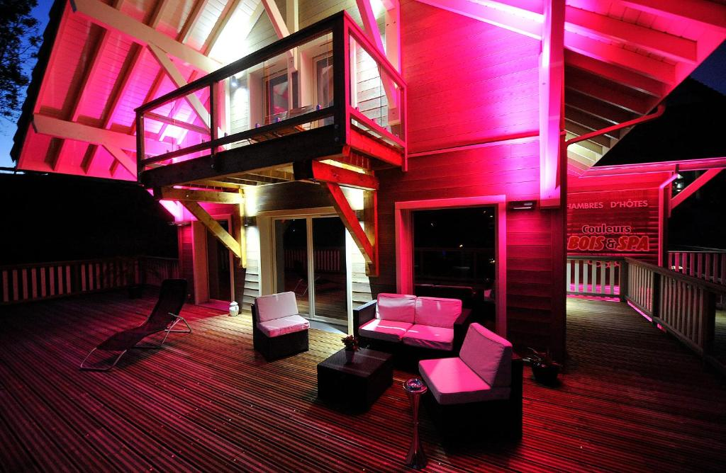 Chambres d 39 h tes couleurs bois spa chambres d 39 h tes xonrupt longemer for Hotel jacuzzi privatif lorraine