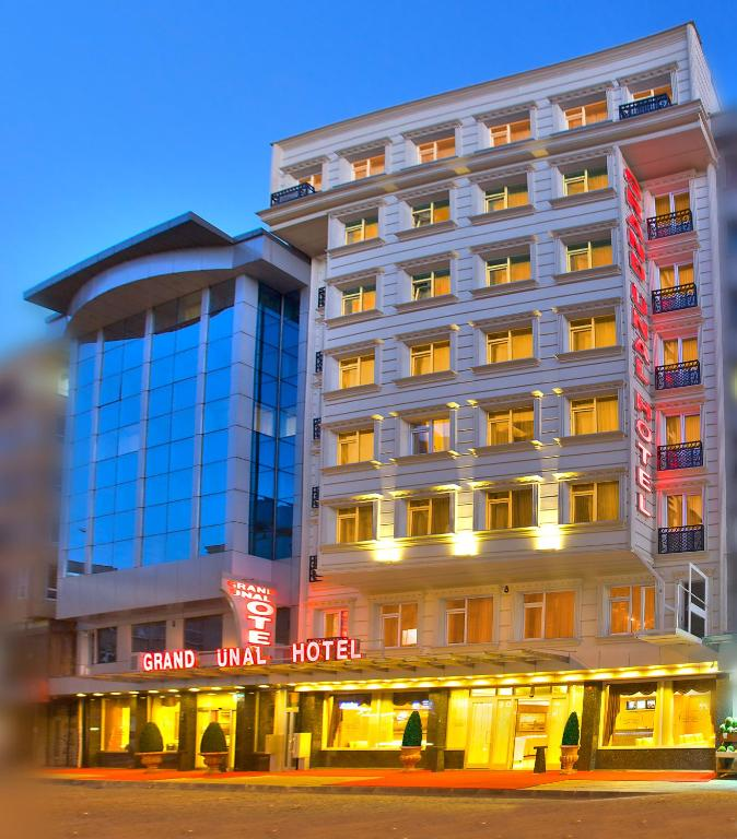 Grand unal hotel r servation gratuite sur viamichelin for Grand pamir hotel istanbul