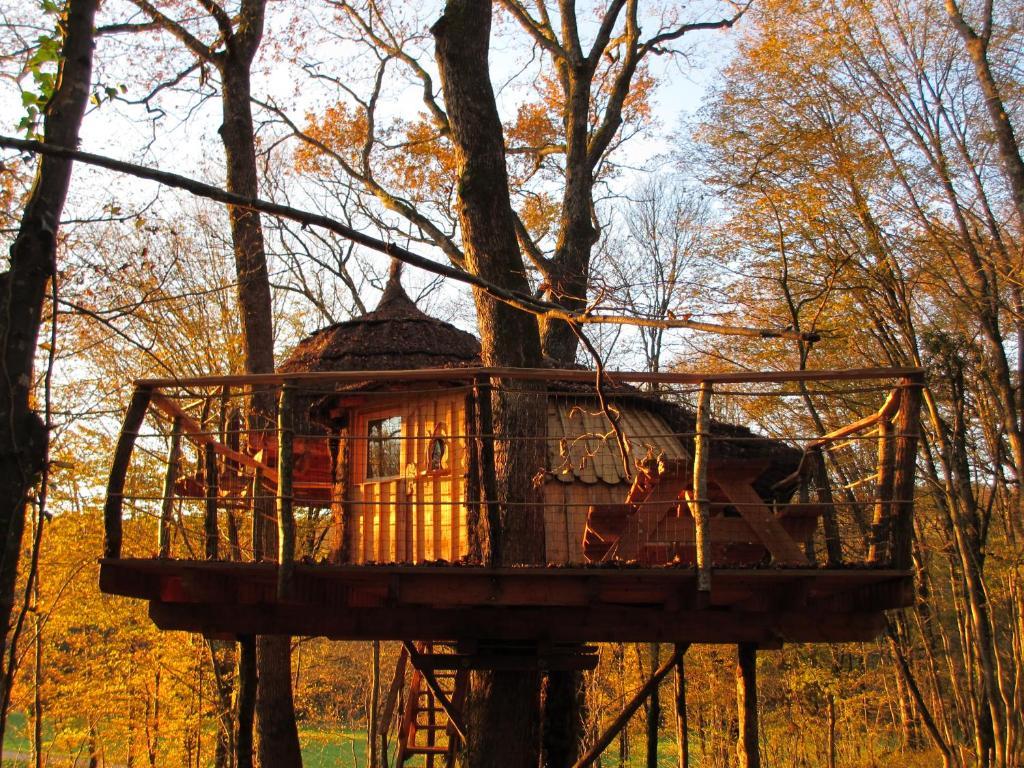 Chambres d'hôtes cabanes du bois clair, chambres d'hôtes ranchot