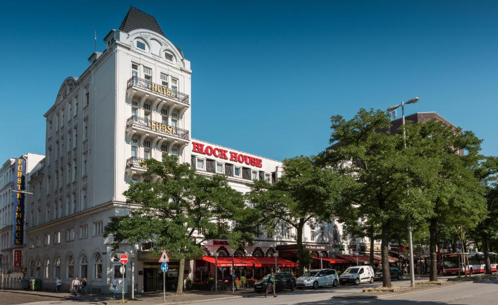 Hotel Furst Bismarck Hamburg Kirchenallee