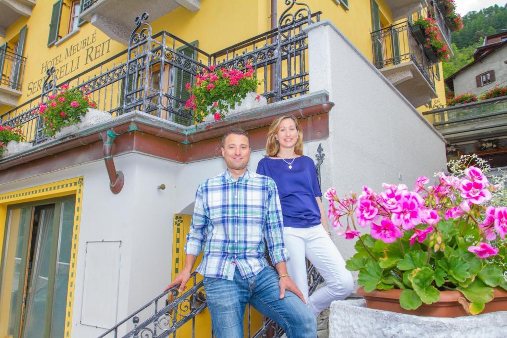 Hotel meubl sertorelli reit bormio informationen und for B b meuble dante bormio