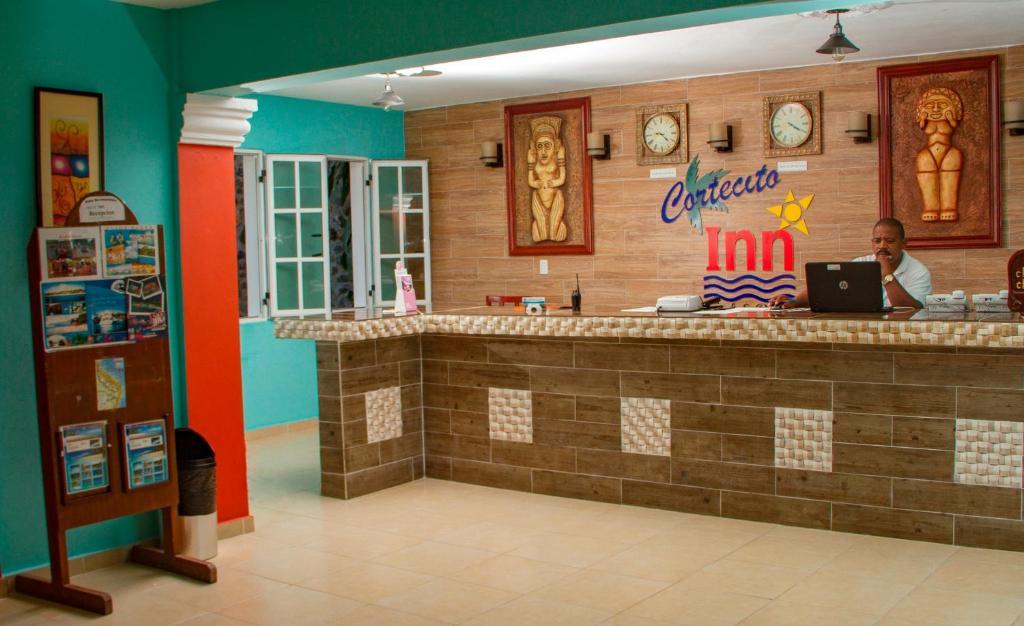 El lobby o recepción de Hotel Cortecito Inn Bavaro