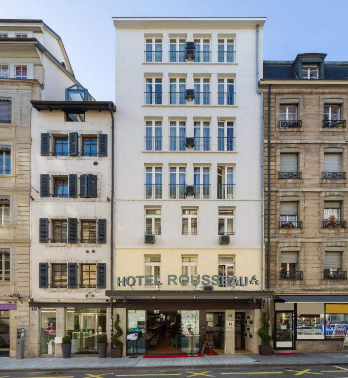Hotel rousseau gen ve for Design hotel geneva rue ferrier 6