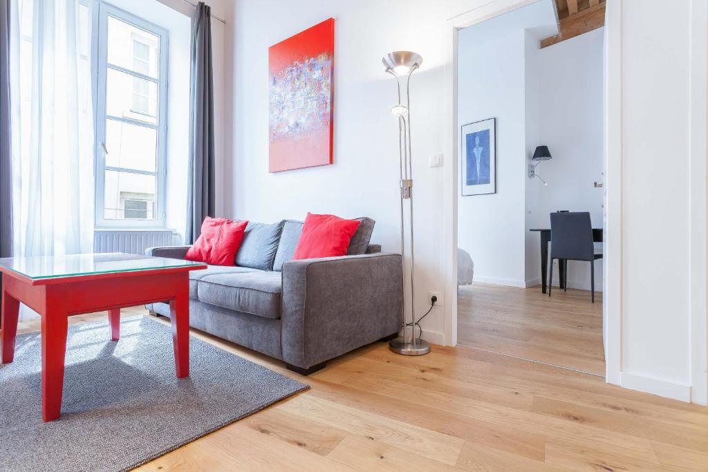 Appartement appart coeur de lyon hotel de ville op ra for 9 rue du jardin des plantes 69001 lyon