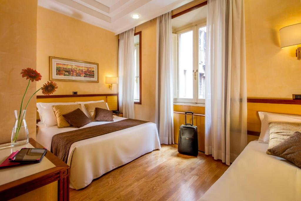 Hotel oxford rome book your hotel with viamichelin for Hotel roma booking