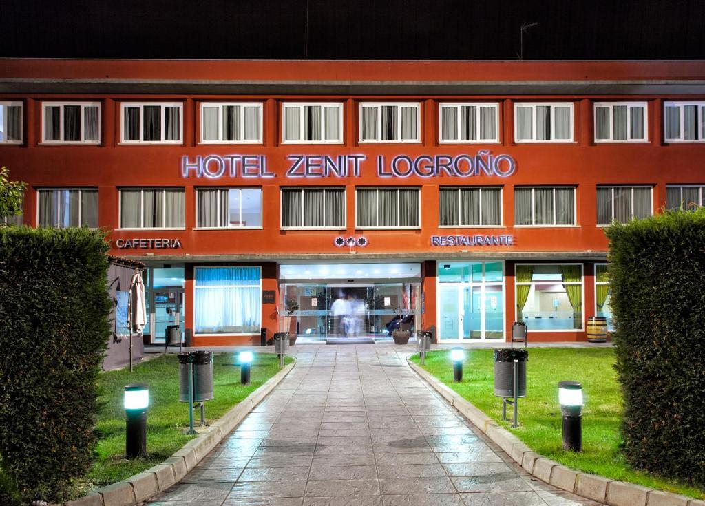 Zenit logro o r servation gratuite sur viamichelin for Hotel diseno la rioja