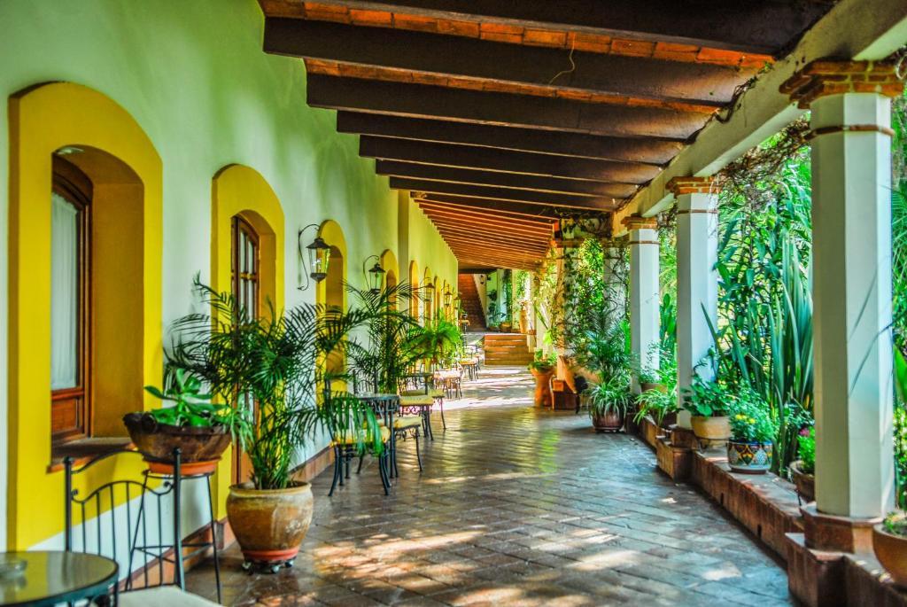 Hotel hacienda los laureles san agust n yatareni for Planimetrie hacienda messicano