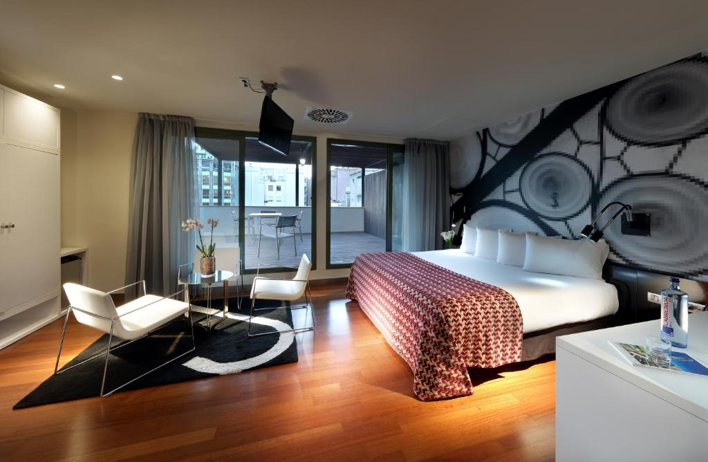 Eurostars bcn design r servation gratuite sur viamichelin for Design hotel barcelona
