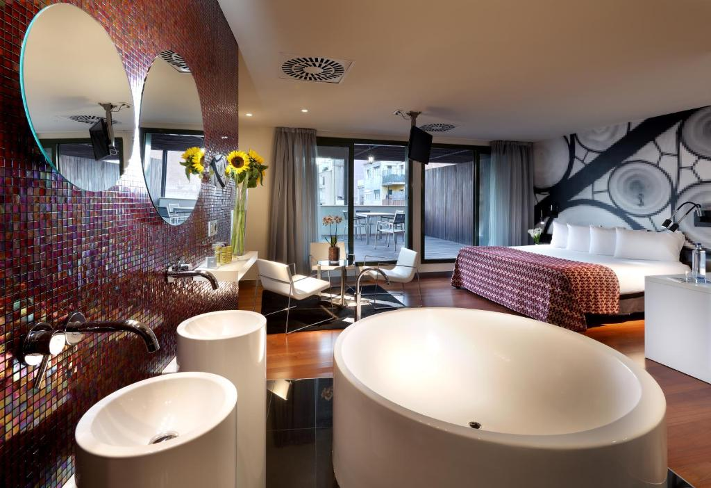 Eurostars bcn design barcelona book your hotel with for Hotel design barcelone