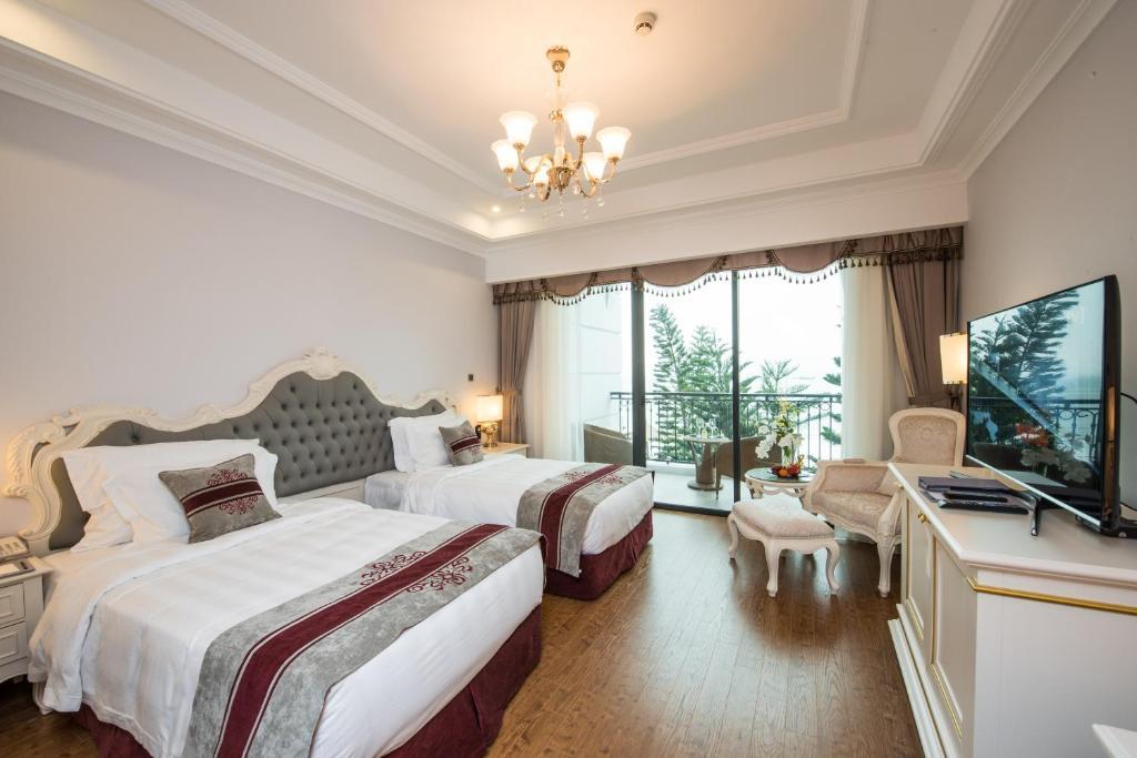 Phòng Deluxe 2 Giường Đơn - Chỉ Bao Bữa Sáng