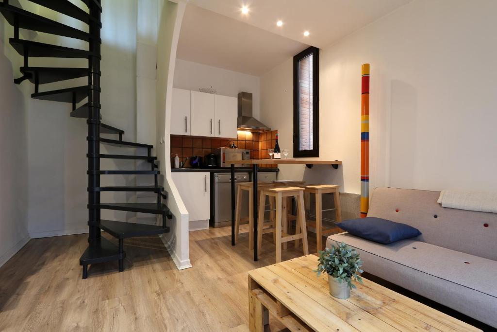 Appartement le duplex locations de vacances toulouse - Ustensiles de cuisine toulouse ...
