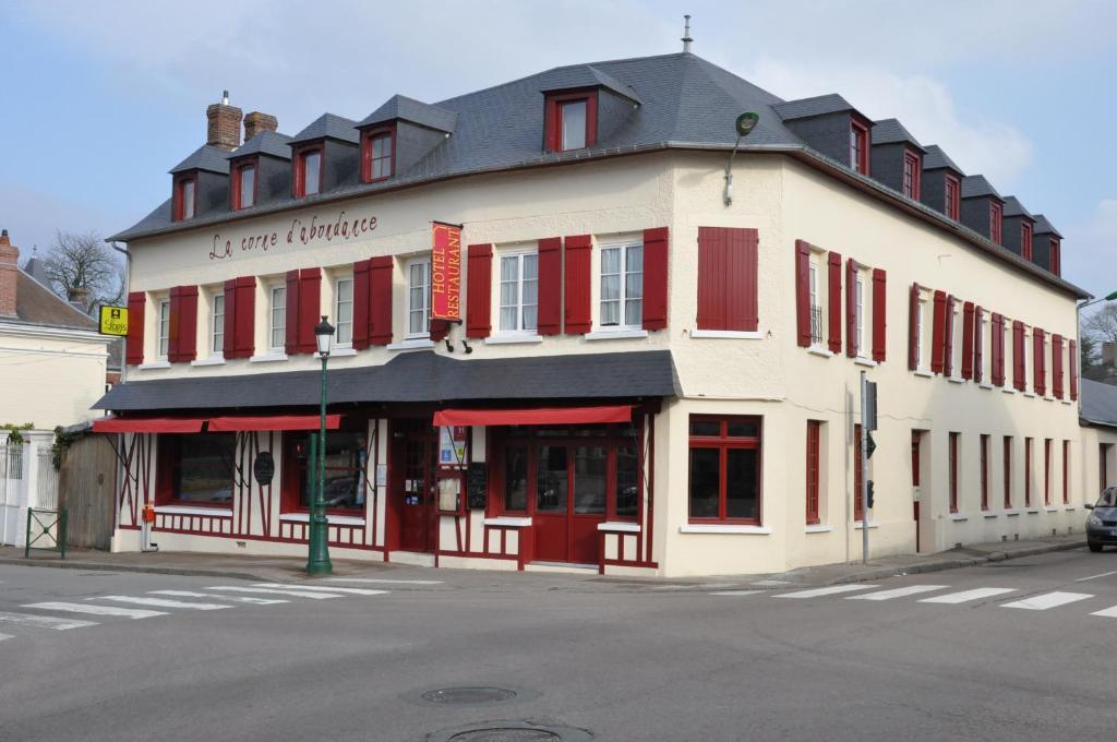 Auberge la corne d 39 abondance bourgth roulde infreville for Appart hotel evreux