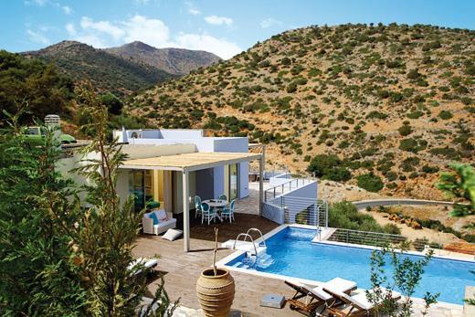 Electra, Hotel, Villa Rosal 17, Caminho Da Praia Grande, Chavania, 74100, Greece