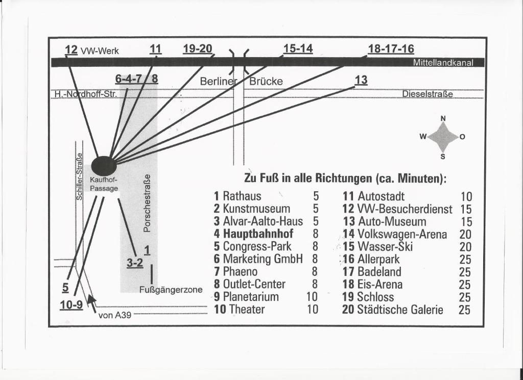 City hotel journal wolfsburg reserva tu hotel con viamichelin - El tiempo en wolfsburg ...