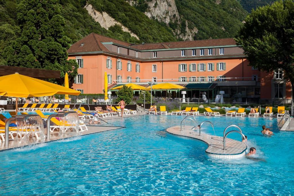 Grand h tel des bains lavey les bains for Grand hotel des bains 07