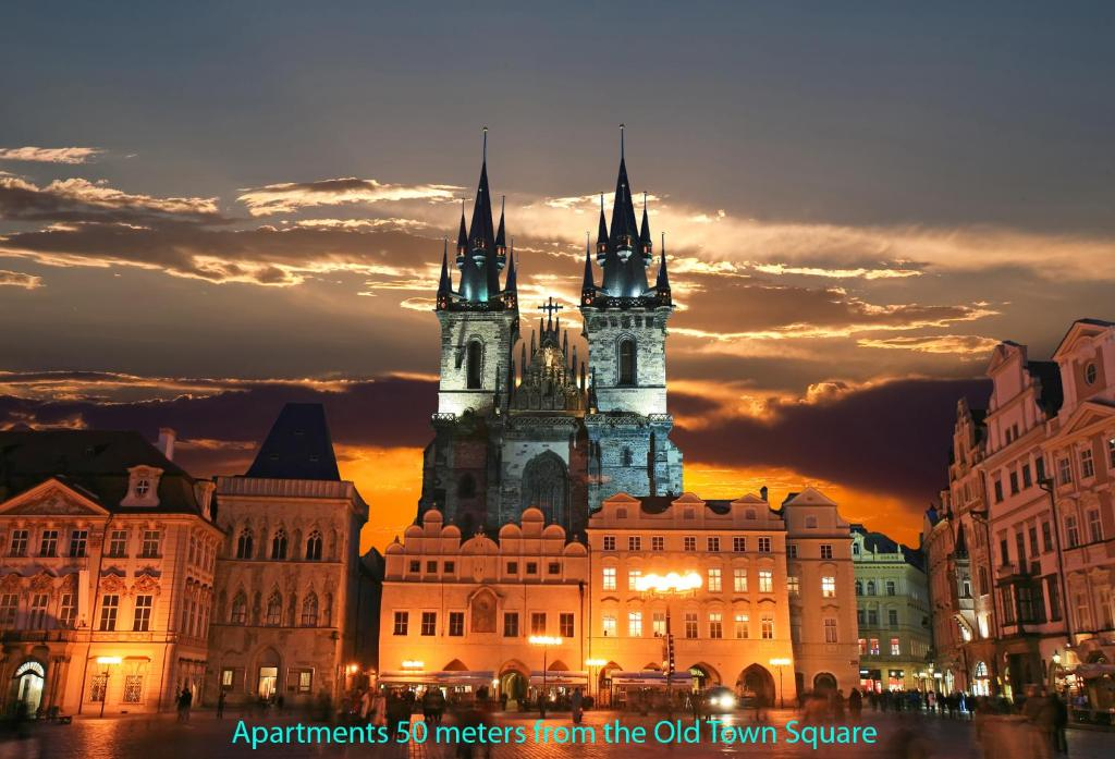 Apartments old town square prag informationen und for Hotels near old town square prague