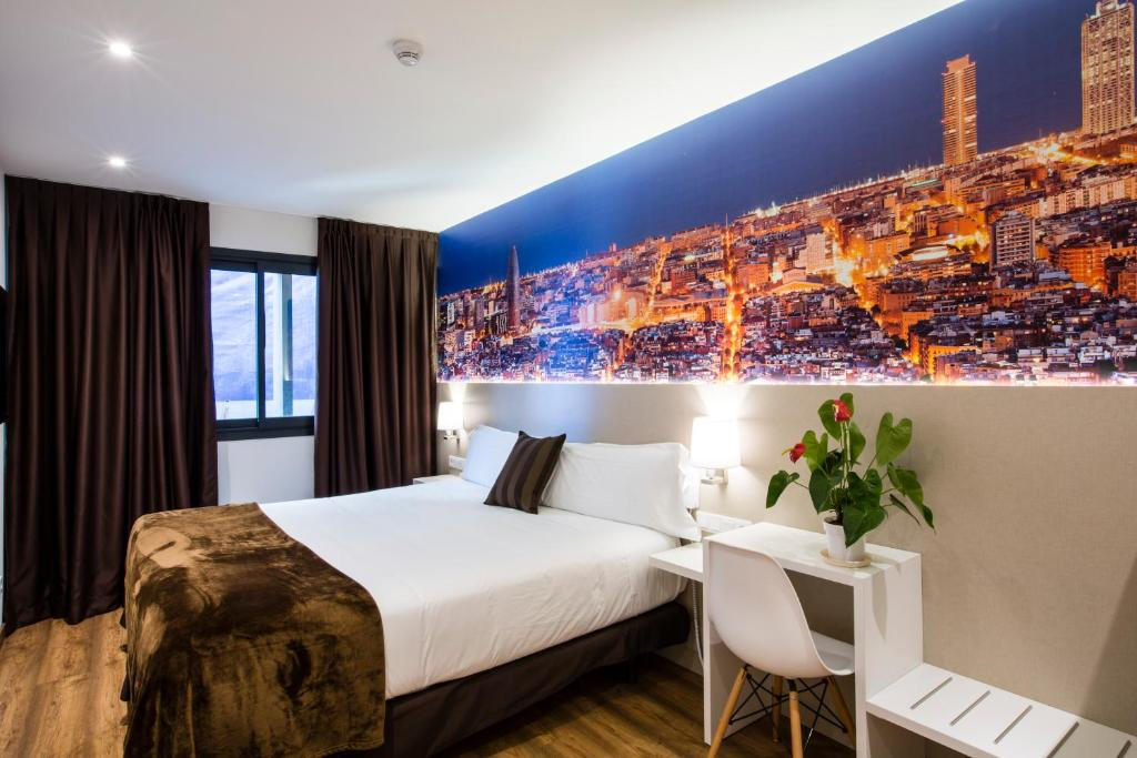 Hotel bestprice gracia barcelona book your hotel with for Hotel gracia barcelona