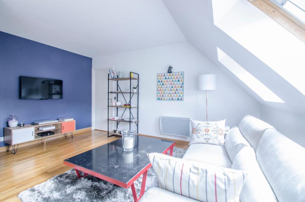Appartement dreamyflat louvre museum locations de for Chambre d hotes rivoli