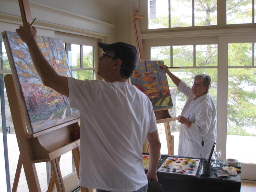 Affittacamere g te et atelier de l 39 artiste peintre - Atelier artiste peintre ...