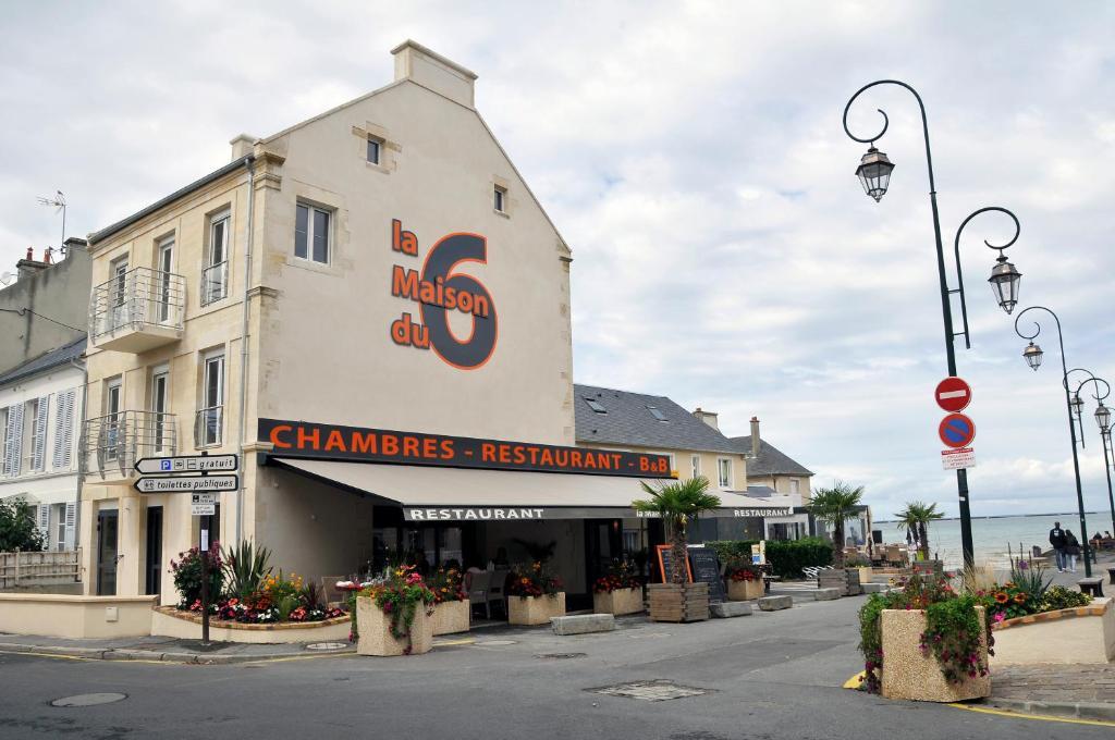 Hotel Restaurant Arromanches Bains La Maison Des