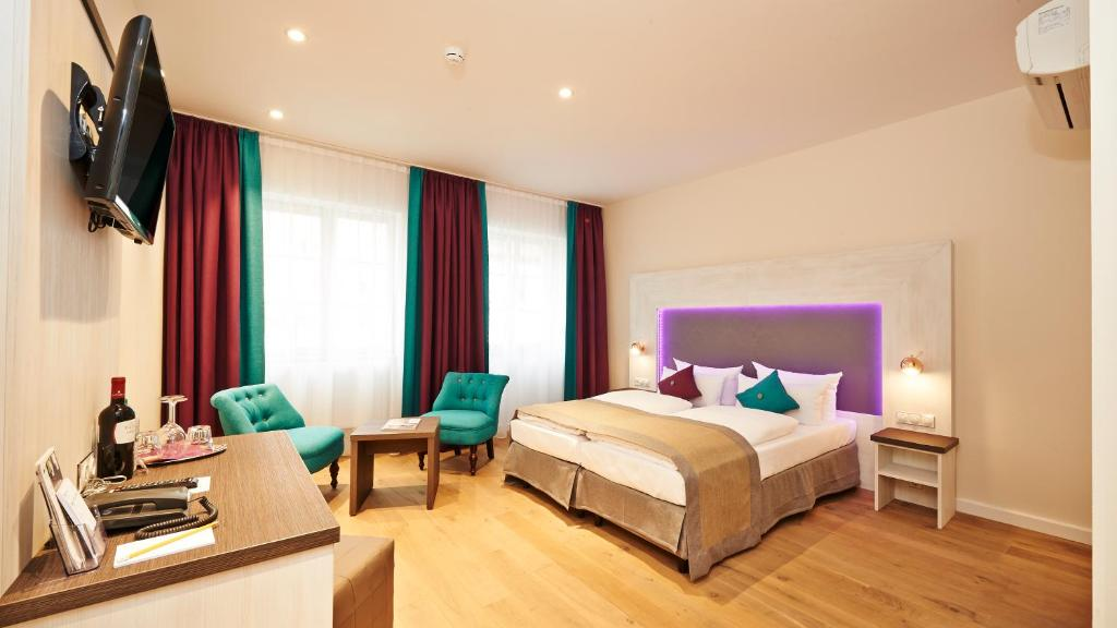 hotel elch boutique n rnberg viamichelin informatie en online reserveren. Black Bedroom Furniture Sets. Home Design Ideas