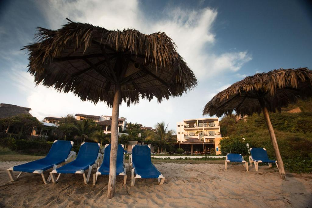 Manta raya hotel san pedro pochutla prenotazione on for Pauline alla spiaggia
