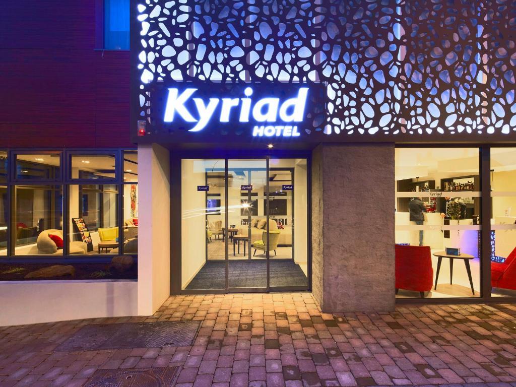 Kyriad troyes centre troyes viamichelin informatie en for Appart hotel kyriad