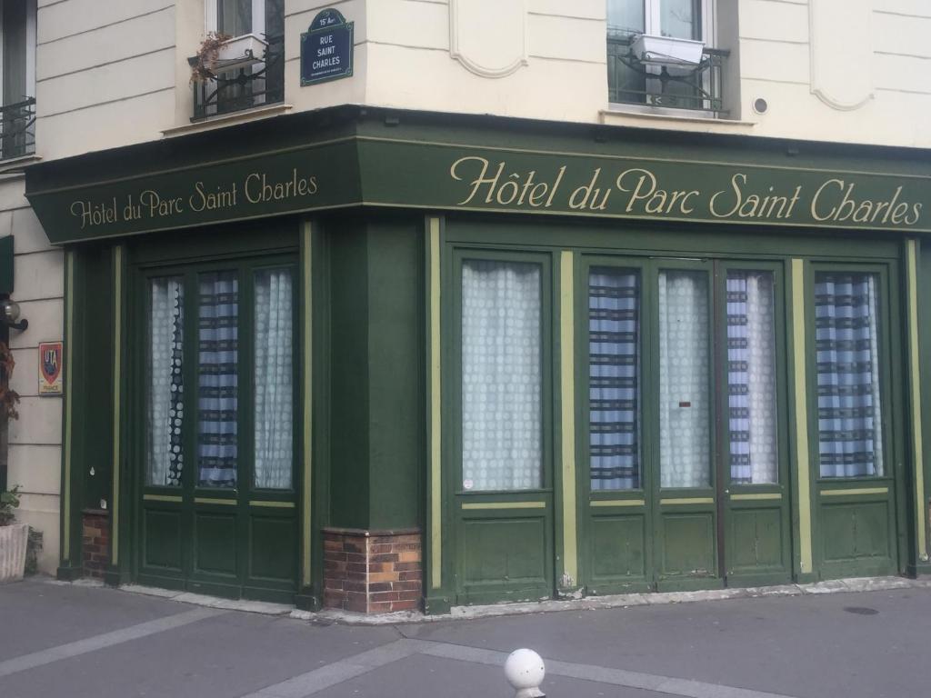 H tel du parc saint charles paris online booking for Hotel du parc