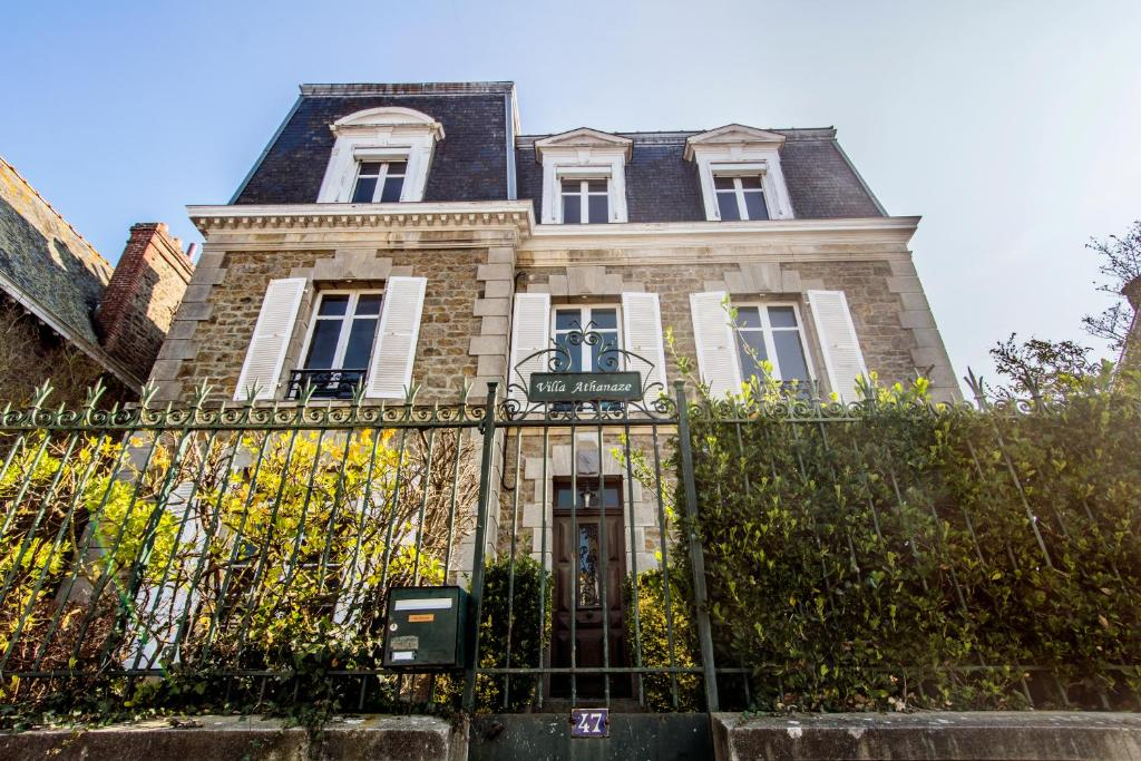 chambres d'hôtes villa athanaze, chambres d'hôtes saint-malo