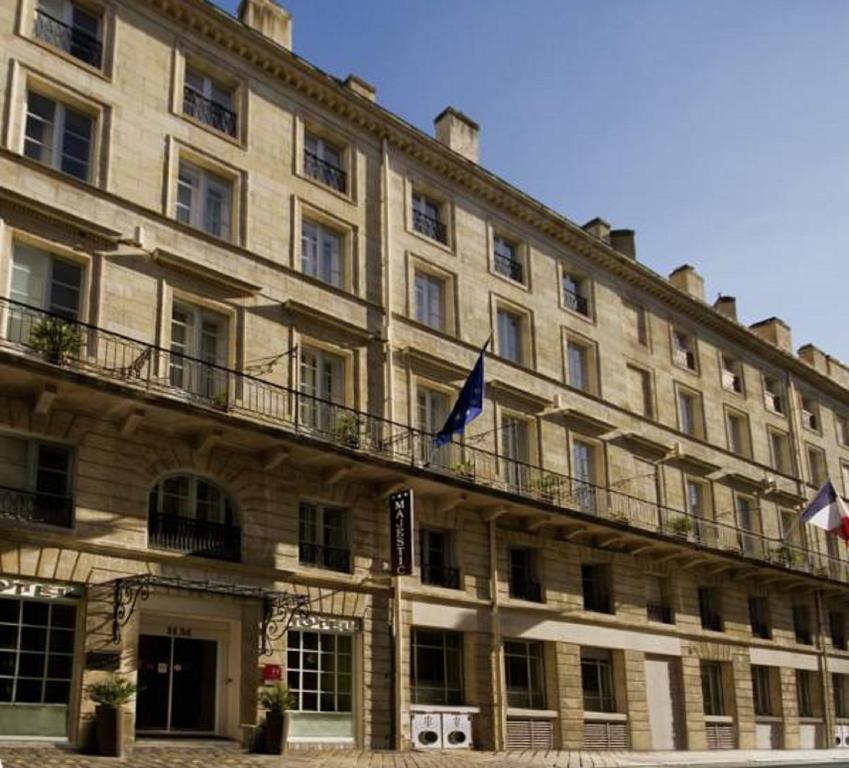Hotel majestic bordeaux for Hotels bordeaux