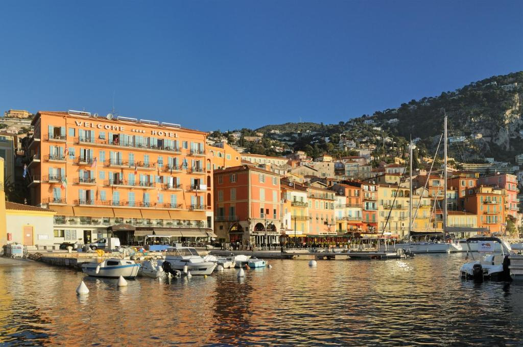 welcome hotel villefranche sur mer book your hotel with viamichelin. Black Bedroom Furniture Sets. Home Design Ideas