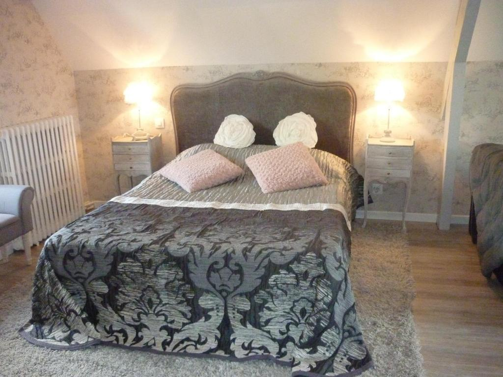 bed breakfast les champs de tracy kamers b b la graverie. Black Bedroom Furniture Sets. Home Design Ideas