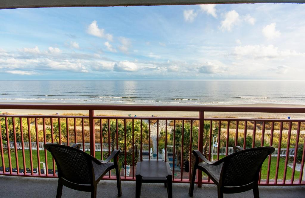 Paradise resort myrtle beach viamichelin informatie for Sea banks motor inn myrtle beach
