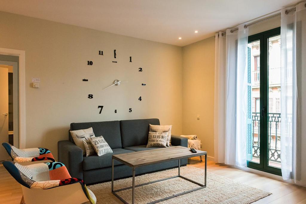 منطقة جلوس في Four Petals Barcelona Boutique Apartments