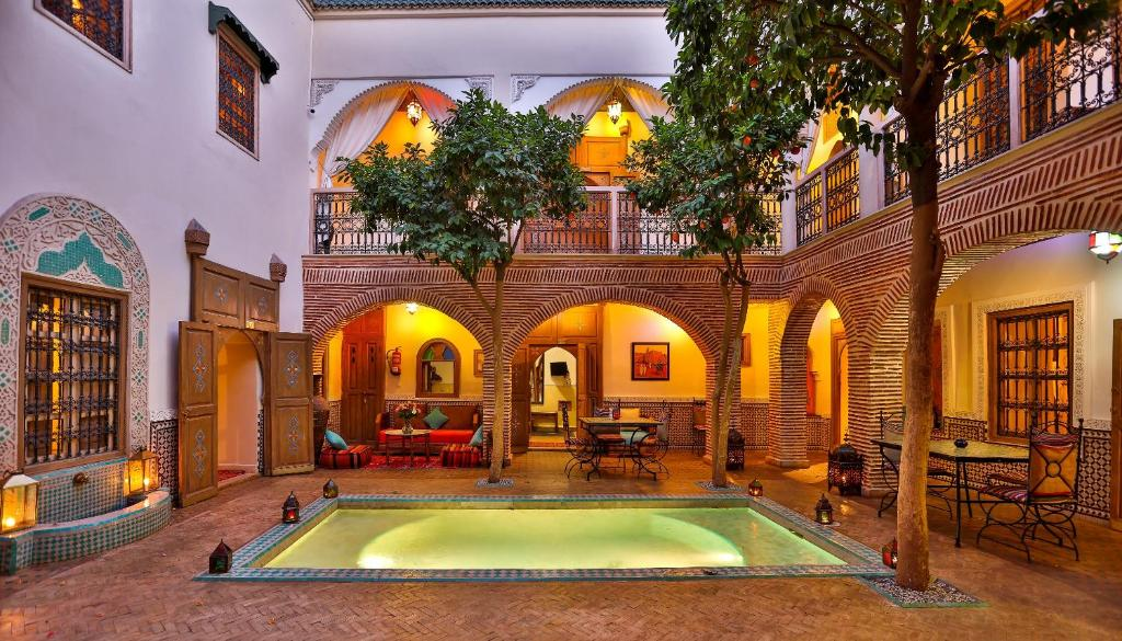 Riad fleur d 39 orient chambres d 39 h tes marrakech for Chambre d hotes marrakech