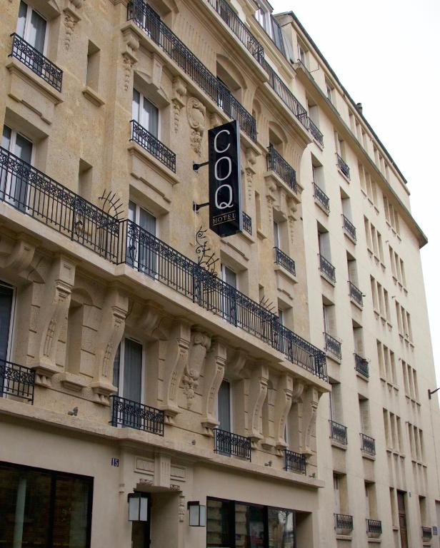 Coq hotel paris r servation gratuite sur viamichelin for Reservation hotel paris