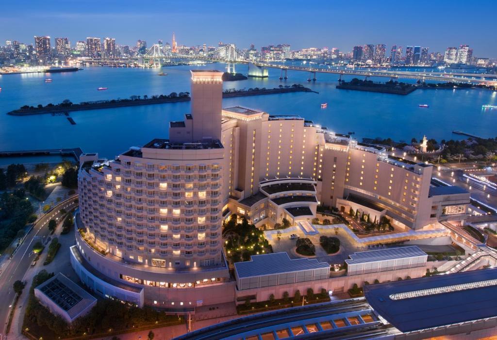Una vista aérea de Hilton Tokyo Odaiba