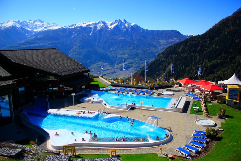 Top deals h tel bains dovronnaz switzerland for Hotel des bains saillon suisse