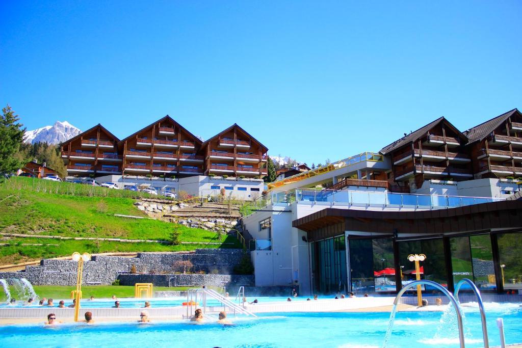 H tel des bains d 39 ovronnaz r servation gratuite sur for Reserver des hotels