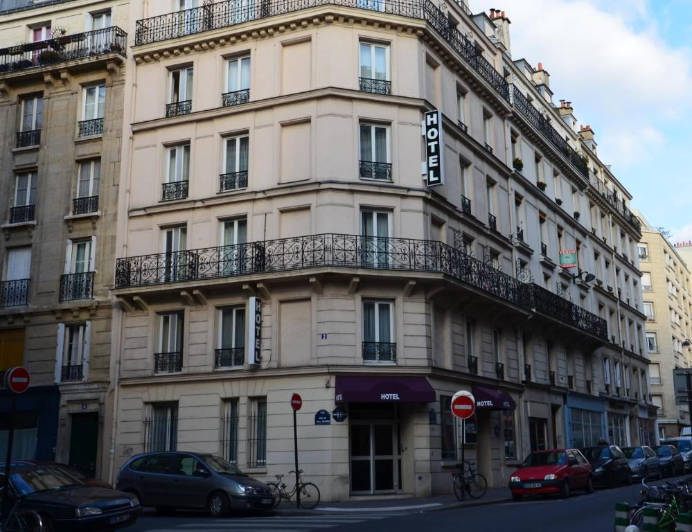Hotel du chemin vert paris online booking viamichelin for Hotel booking paris