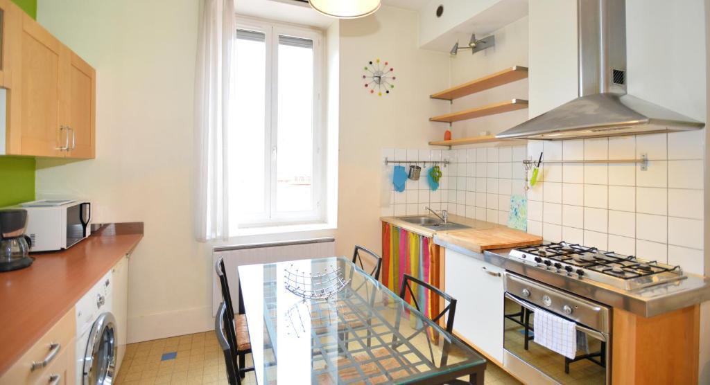Appartement appart 39 recamier locations de vacances lyon - Ustensiles de cuisine lyon ...
