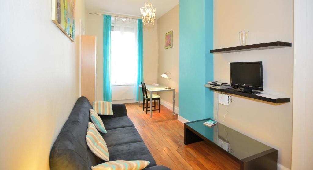 Appartement appart 39 recamier appartement lyon dans le for Appart hotel dans le 95