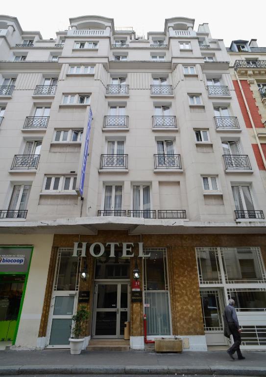 H tel ambassadeur r servation gratuite sur viamichelin for Hotels 75017
