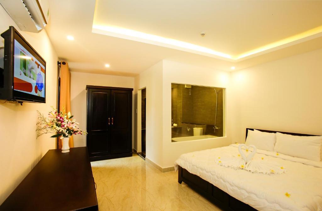 Phòng Tiêu chuẩn Giường đôi/2 Giường đơn (Không có cửa sổ)