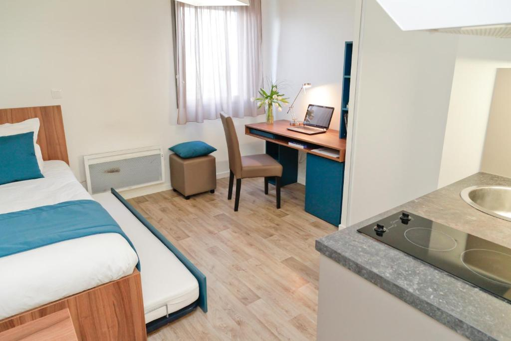 Appart 39 hotel odalys blamont amiens prenotazione on for Hotel appart amiens