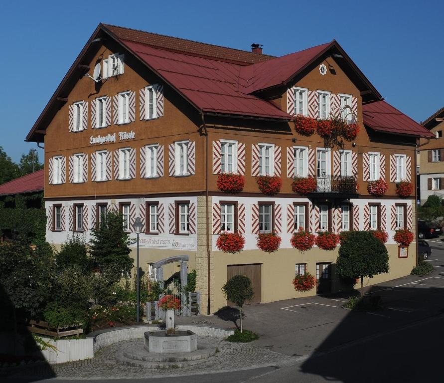 Landgasthof r ssle beim kr uterwirt lindenberg im for Hotel johanneshof oberstaufen