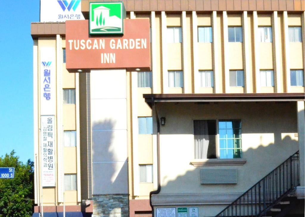 Tuscan Garden Inn Los Angeles Online Booking Viamichelin